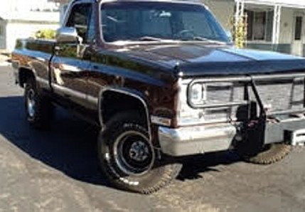 1983 Chevrolet Silverado and other C/K1500 4x4 Regular Cab for sale 100812339