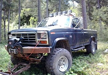 1983 Ford F250 4x4 Regular Cab for sale 100792014
