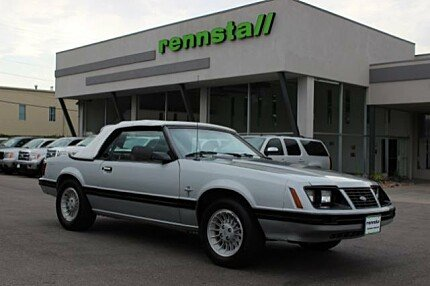 1983 Ford Mustang Convertible for sale 100843719
