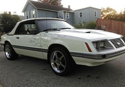 1983 Ford Mustang Convertible for sale 100976210