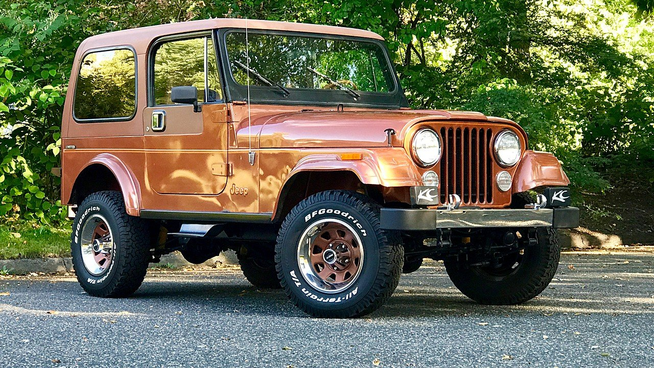 1983 Jeep CJ 7 for sale 100815767