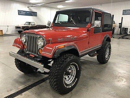 1983 Jeep CJ 7 for sale 100985620