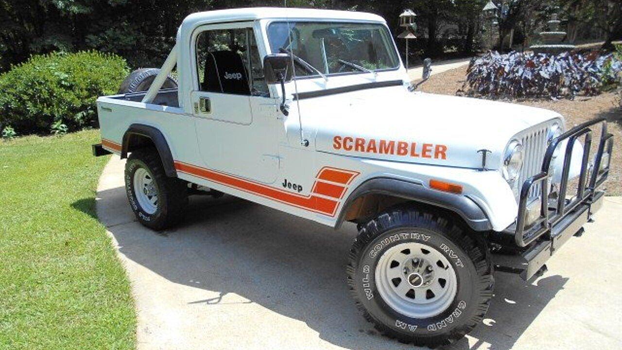 1983 jeep scrambler for sale near newnan georgia 30263 classics on autotrader. Black Bedroom Furniture Sets. Home Design Ideas