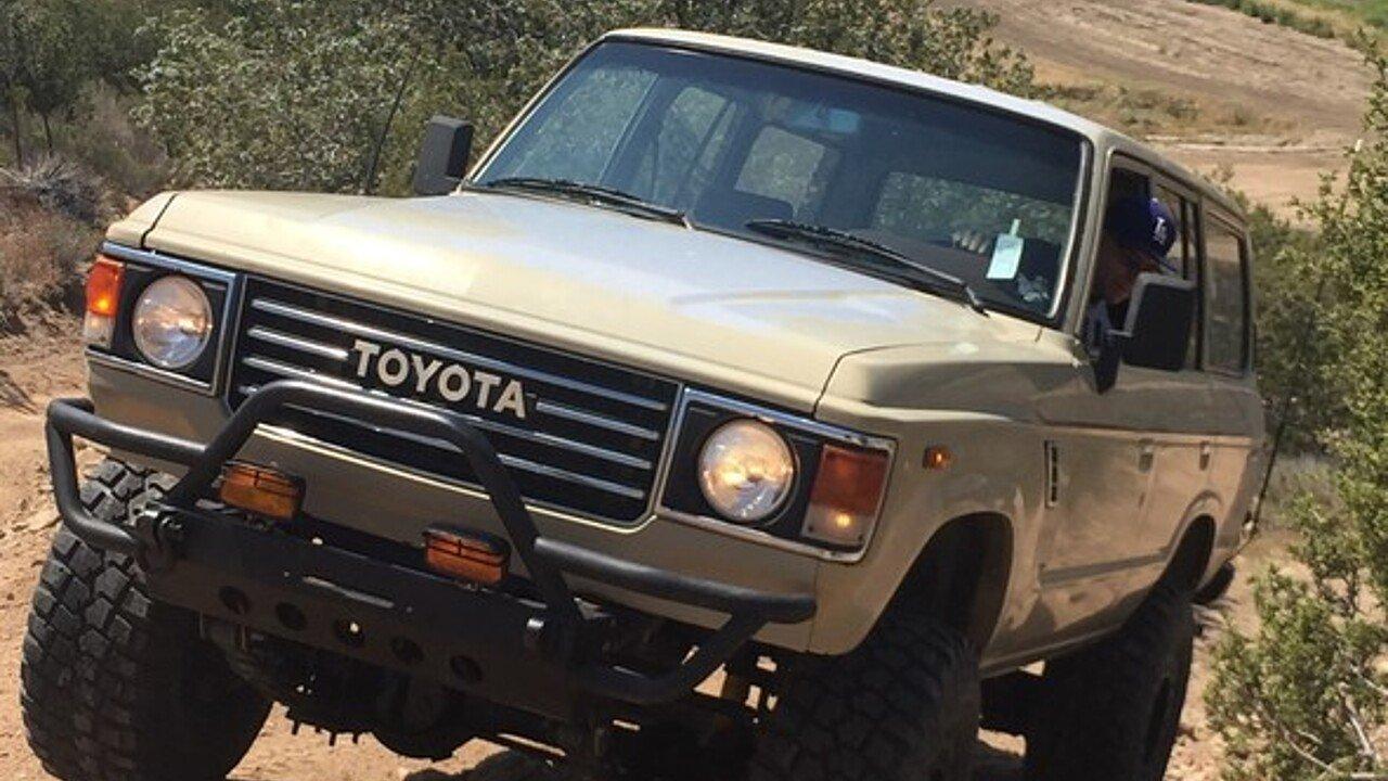 1983 Toyota Land Cruiser For Sale Near Woodland Hills California 101042542