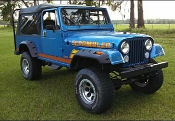 1983 jeep Scrambler for sale 101012030