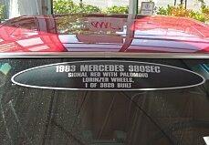 1983 mercedes-benz 380SEC for sale 101019493