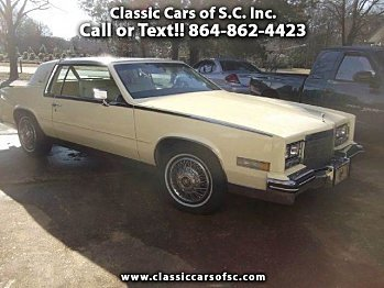 1984 Cadillac Eldorado for sale 100743086