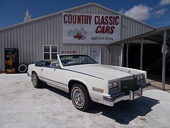 1984 Cadillac Eldorado for sale 100762676