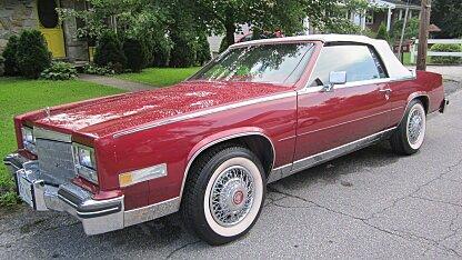 1984 Cadillac Eldorado Convertible for sale 101018299