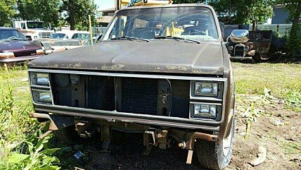 1984 Chevrolet Blazer 4WD for sale 100765429