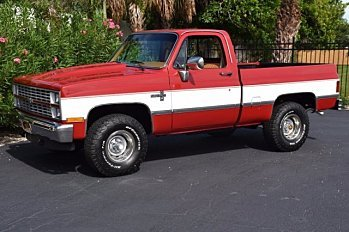 1984 Chevrolet C/K Truck 4x4 Regular Cab 1500 for sale 100892299