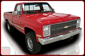 1984 Chevrolet C/K Truck 4x4 Regular Cab 1500 for sale 100997102