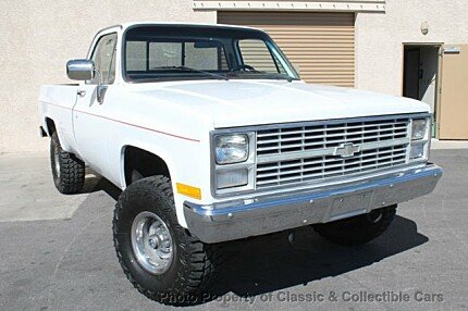 1984 Chevrolet C/K Truck 4x4 Regular Cab 1500 for sale 100978294