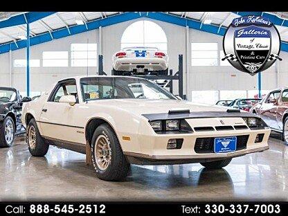 1984 Chevrolet Camaro Berlinetta Coupe for sale 101029419