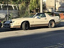1984 Chevrolet Camaro Coupe for sale 101052528
