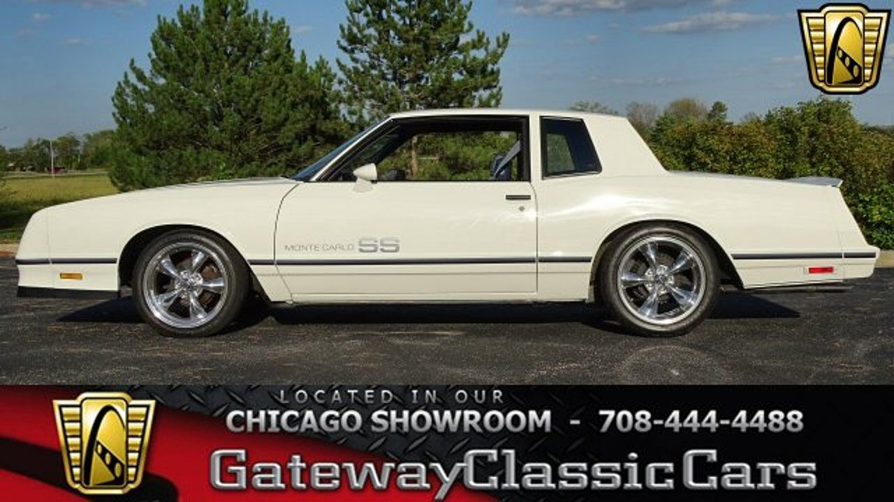 1984 Chevrolet Monte Carlo SS for sale 100963532