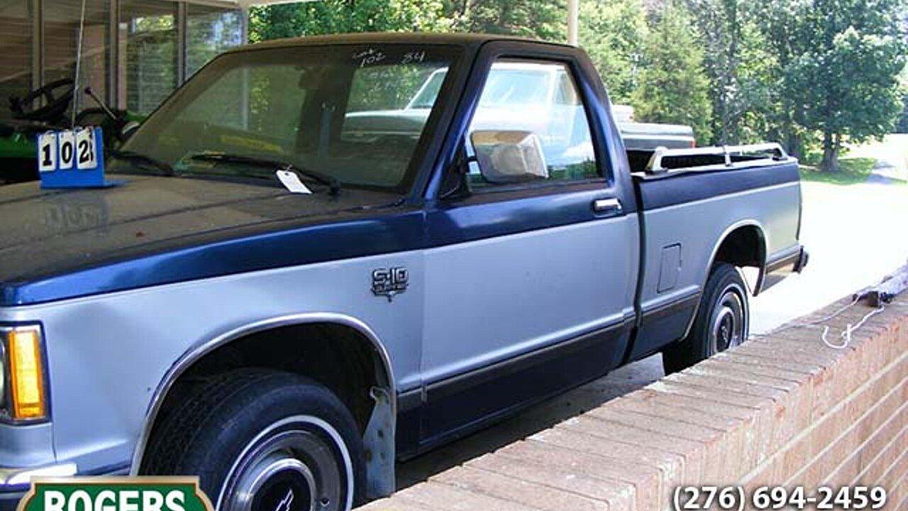 1984 chevrolet s10 pickup for sale near lakeland florida 33803 classics on autotrader. Black Bedroom Furniture Sets. Home Design Ideas
