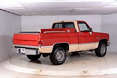 1984 Chevrolet Silverado and other C/K1500 4x4 Regular Cab for sale 100762916