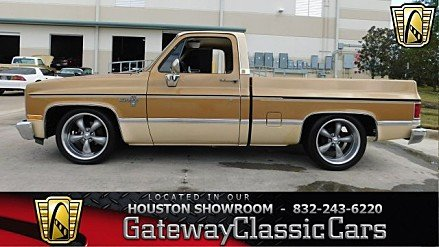 1984 Chevrolet Silverado and other C/K1500 2WD Regular Cab for sale 100839281