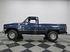 1984 Chevrolet Silverado and other C/K1500 4x4 Regular Cab for sale 100859331
