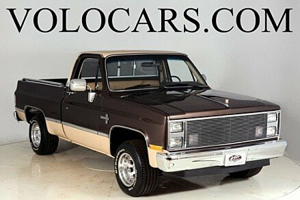 1984 Chevrolet Silverado and other C/K1500 2WD Regular Cab for sale 100879708