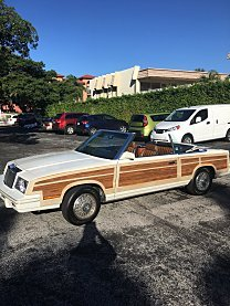 1984 Chrysler LeBaron Convertible for sale 100816805