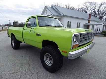 1984 dodge d w truck classics for sale classics on autotrader. Black Bedroom Furniture Sets. Home Design Ideas