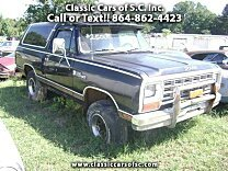 1984 Dodge Ramcharger for sale 100017788