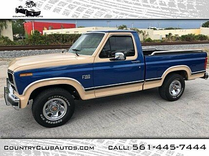 1984 ford f150 classics for sale classics on autotrader. Black Bedroom Furniture Sets. Home Design Ideas