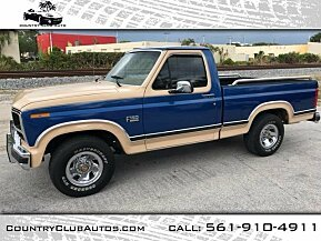 1984 Ford F150 2WD Regular Cab for sale 100961632