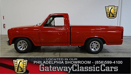 1984 Ford F150 2WD Regular Cab for sale 100978209