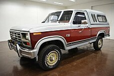 1984 Ford F150 4x4 Regular Cab for sale 100986436