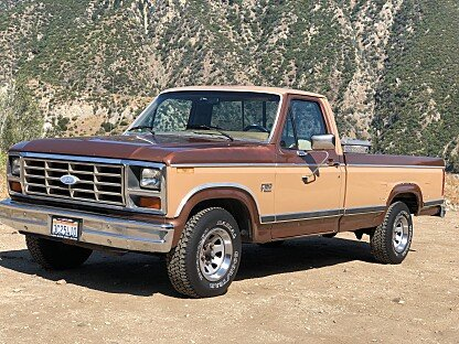 1984 Ford F150 2WD Regular Cab for sale 100991609