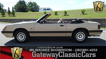 1984 Ford Mustang GLX V8 Convertible for sale 100963383