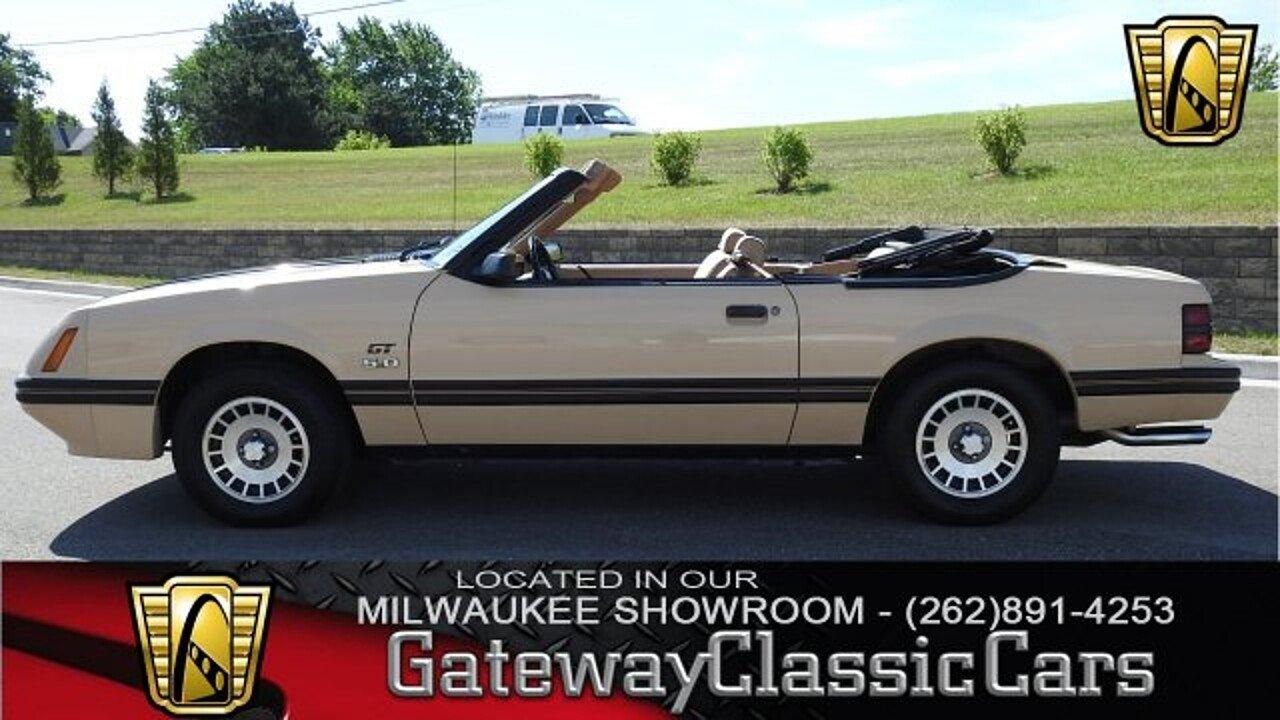 1984 Ford Mustang GLX V8 Convertible for sale near O Fallon ...