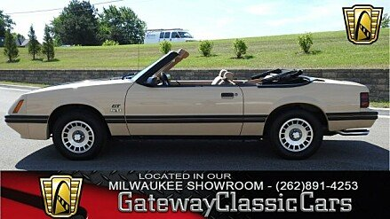 1984 Ford Mustang GLX V8 Convertible for sale 100920290