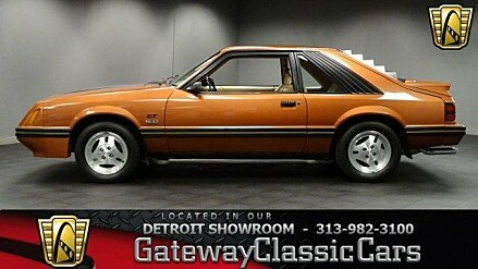 1984 Ford Mustang L Hatchback for sale 100921183
