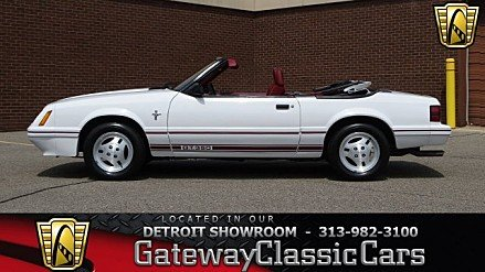 1984 Ford Mustang GLX V8 Convertible for sale 100948371