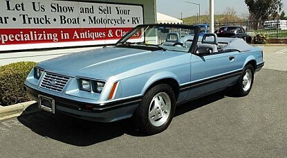 1984 Ford Mustang GLX Convertible for sale 100974386