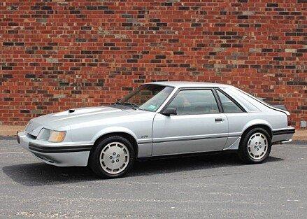 1984 Ford Mustang SVO Hatchback for sale 100983456