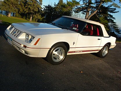 1984 Ford Mustang GLX V8 Convertible for sale 101003121