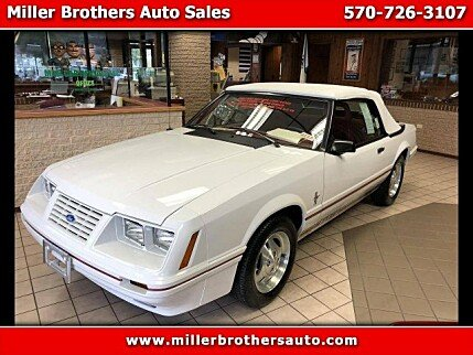 1984 Ford Mustang GLX V8 Convertible for sale 101055901