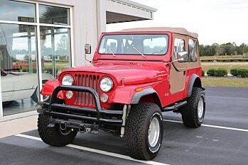 1984 Jeep CJ 7 for sale 100819545