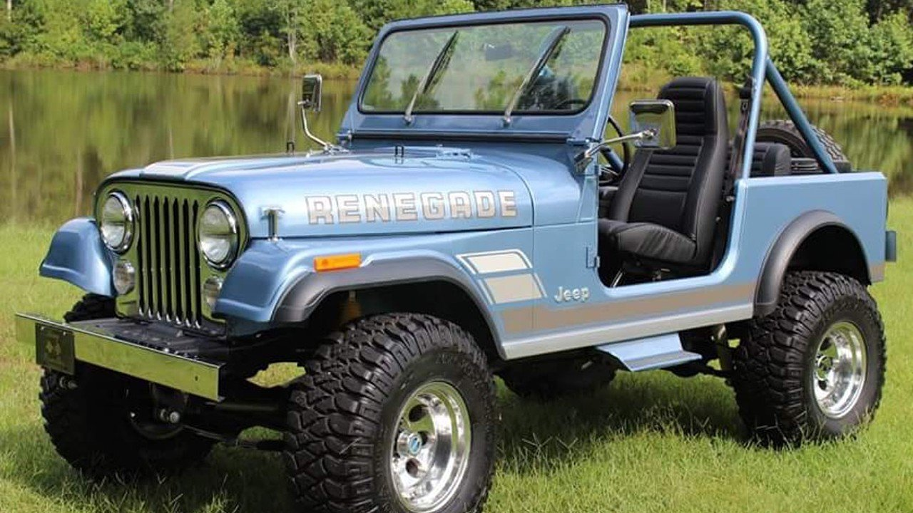 1984 Jeep CJ 7 for sale 100903940
