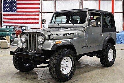 1984 Jeep CJ 7 for sale 100986540