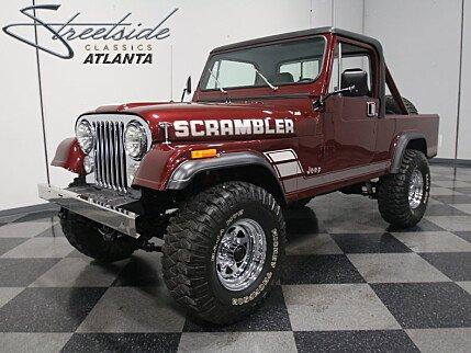 1984 Jeep Scrambler for sale 100852247