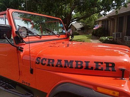 1984 Jeep Scrambler for sale 100959860