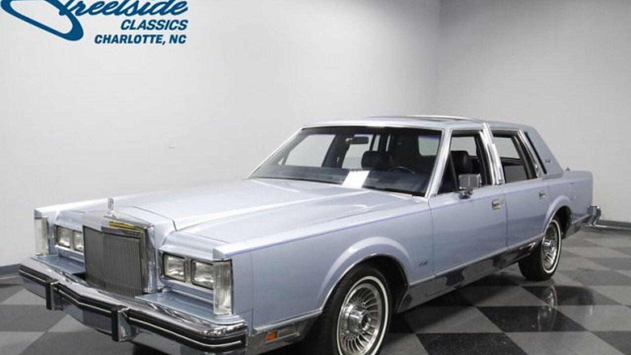 1984 Lincoln Town Car for sale near Concord, North Carolina 28027 ...