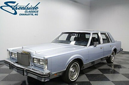 1984 Lincoln Town Car for sale 100978178