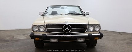 1984 Mercedes-Benz 380SL for sale 100915118